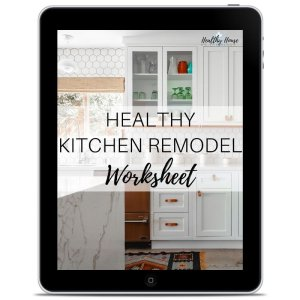 Healthy Kitchen Remodel Worksheet