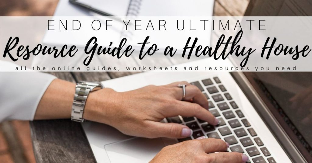 Healthy House End of Year Resource Guide