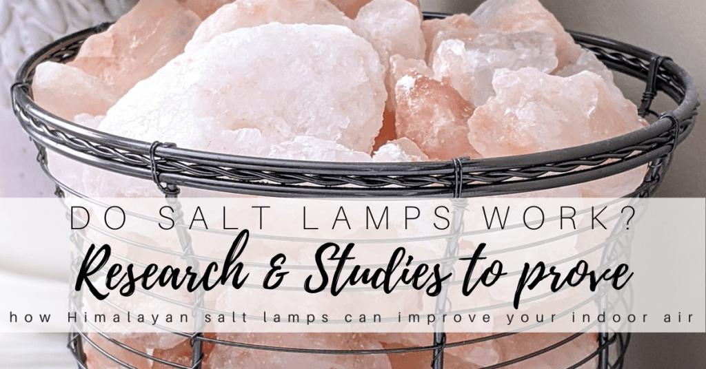 do salt lamps work