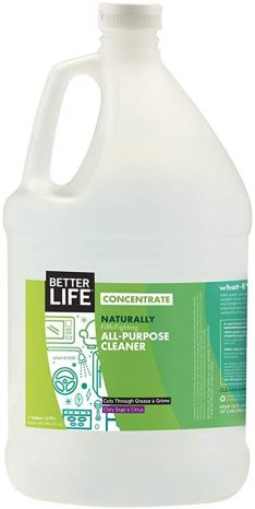 betterlife concentrated green cleaning product