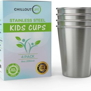 Stainless Steel Cups for Kids and Toddlers