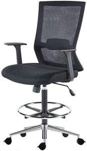 GreenGuard Certified Sunon Ergonomic Mid-Back Mesh Drafting Chair