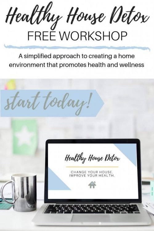 free workshop to reduce toxins from your home