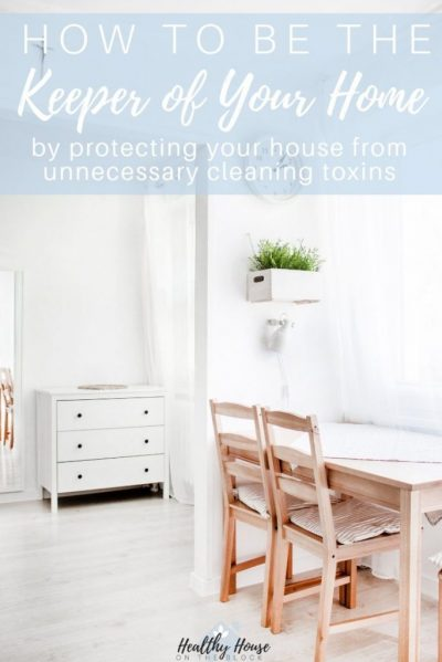 how to prevent toxins at home