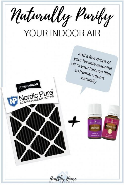 Naturally Purify the air with essential oils