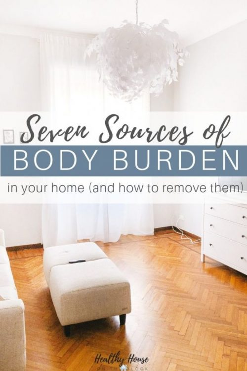 body burden sources in your home and how to remove them