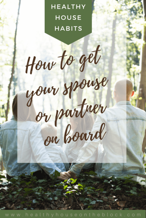 healthy house habits that your spouse will get on board with