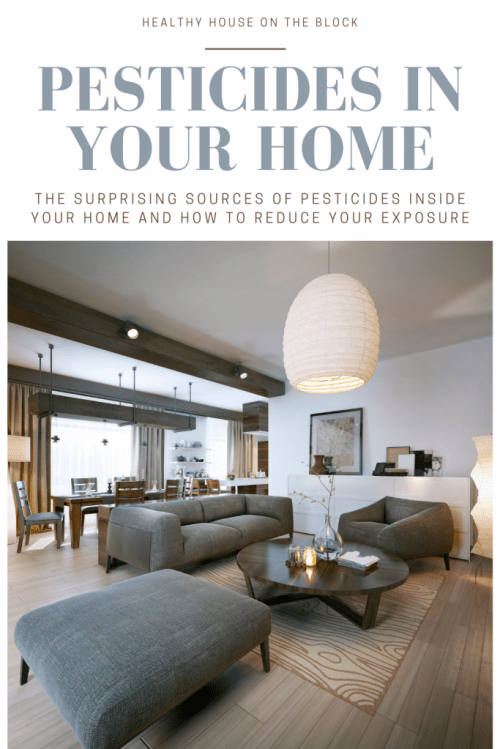 healthy house on the block presents pesticide exposure inside your home