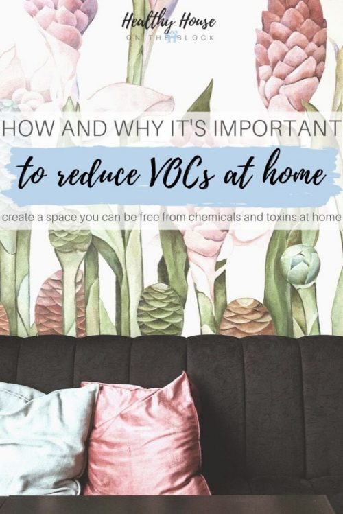 how to reduce vocs and other living room ideas on a budget
