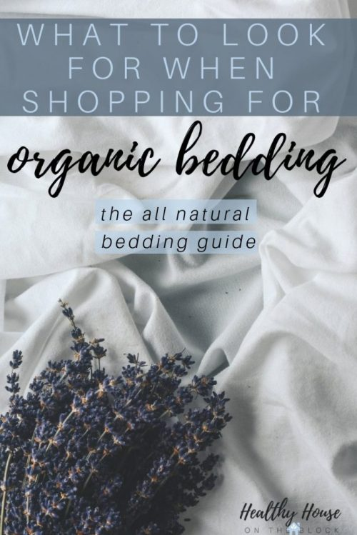 natural bedding shopping