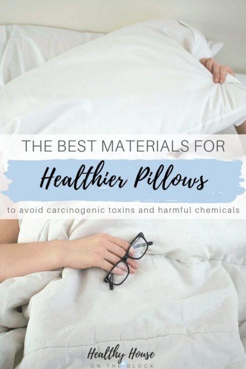 organic pillow materials kapok, wool, organic cotton and buckwheat