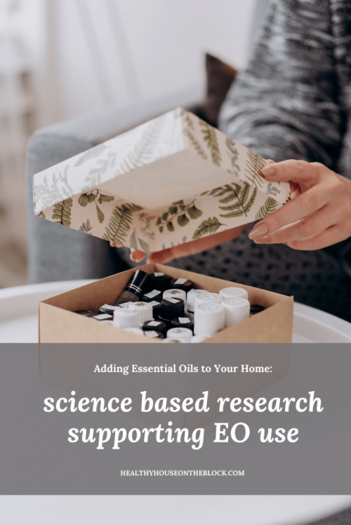 science backed research about essential oil benefits