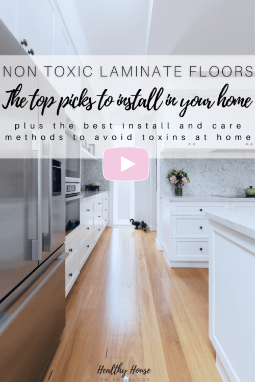 the best laminate flooring for a healthy house and how to install and care for it