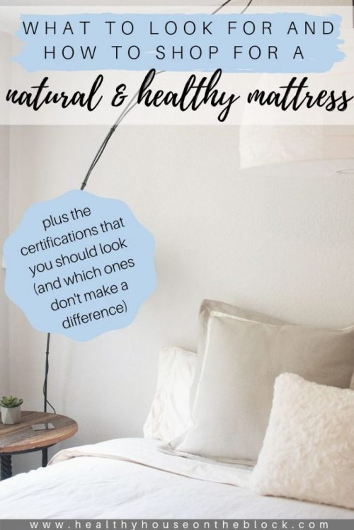 which certifications are best for an organic mattress