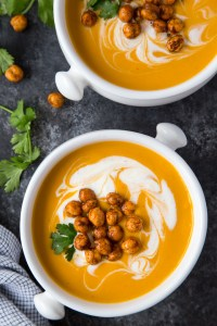 Thai Coconut Carrot Soup {Instant Pot}
