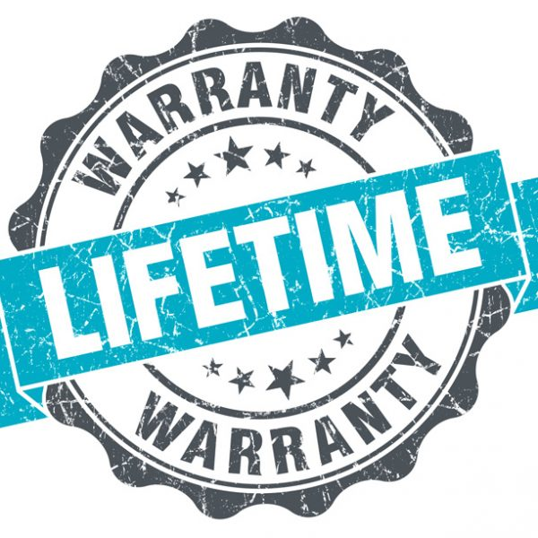 100 Year (Lifetime) Warranty