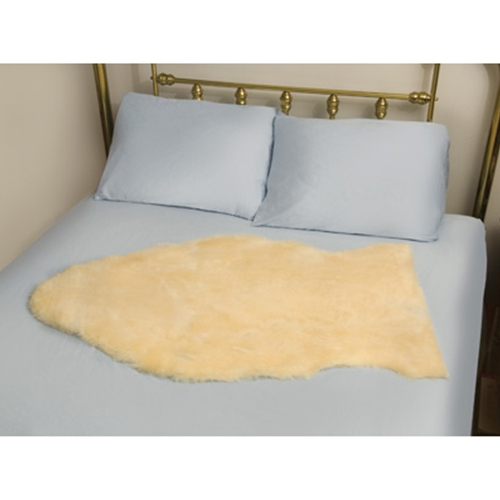 Deluxe Natural Sheepskin Mattress Bed Pad