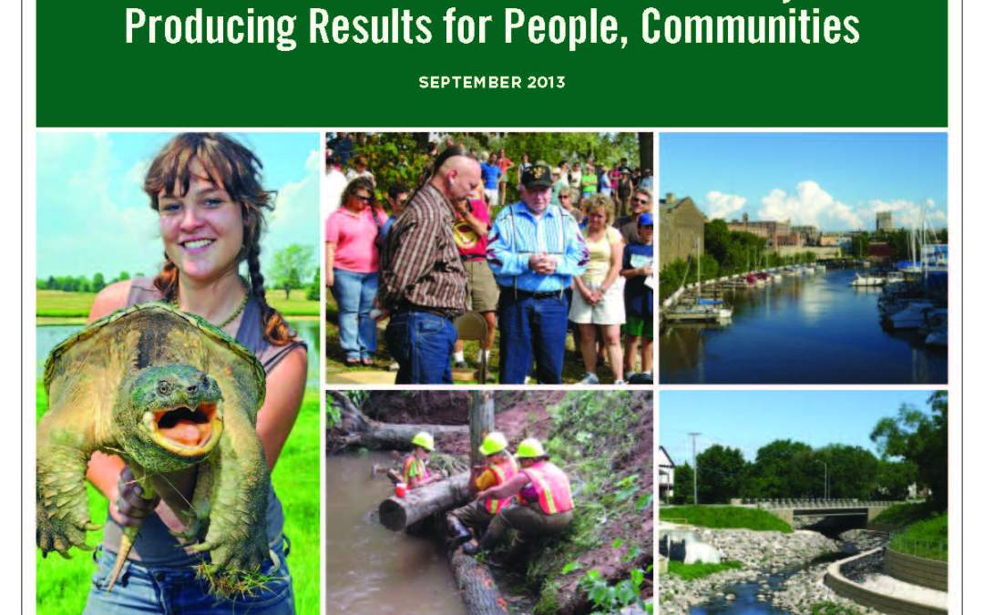 Wisconsin Great Lakes Restoration Projects Producing Results for People, Communities