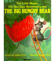 Mouse strawberry and bear