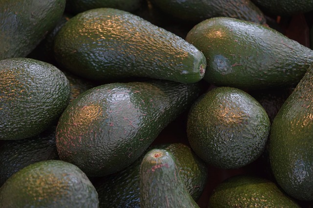 Avocados contain 1.99mg per fruit