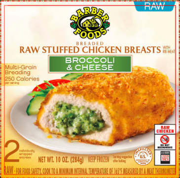 Barber Foods Recall Healthy Little Humans