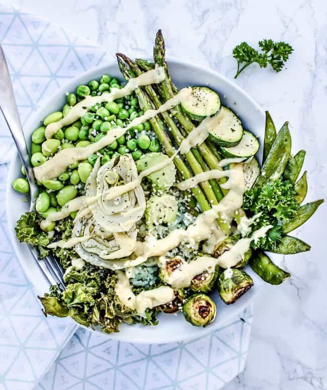 Green Goddess Rice Bowl