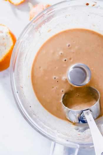 orange chocolate silver dollar pancakes