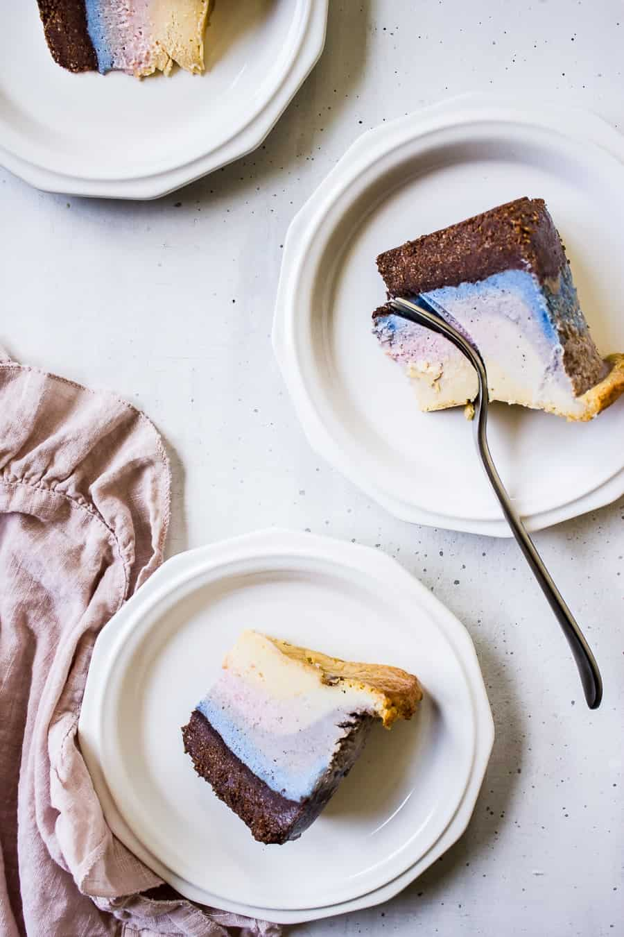 unicorn superfood cheesecake