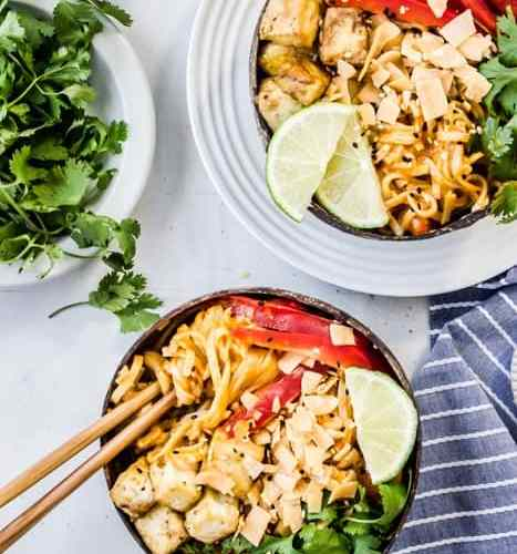 Mango Curried Noodles
