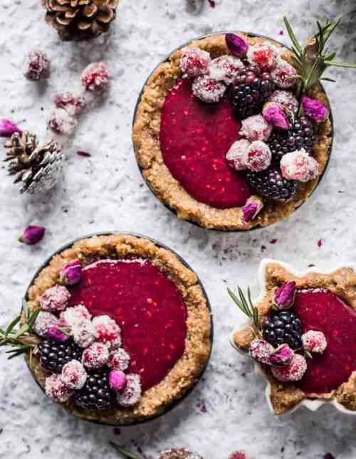 Blackberry Curd Tart