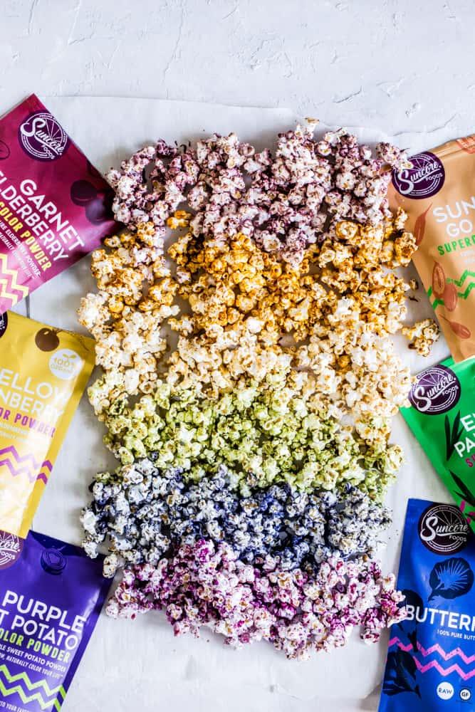 Suncore Foods Supercolor powders