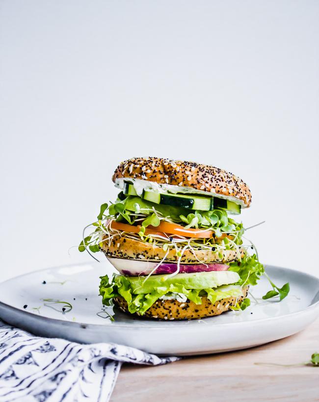 ultimate veggie sandwich gluten free