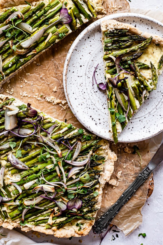 asparagus tart recipes