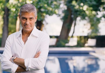 George Clooney, Italy, Healthy Living + Travel
