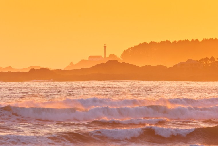 Courtesy Tourism Vancouver Island / Boomer Jerritt, Tofino Sunset, Healthy Living + Travel