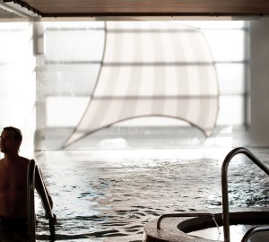 Inside Pool At Scandinave Les Bains Vieux-Montréal, Healthy Living and Travel