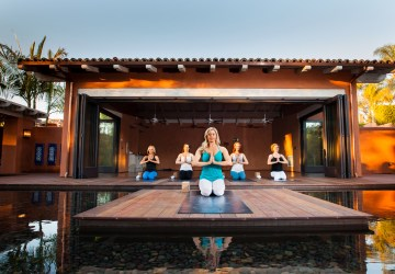 Yoga Lesson At The Rancho Valencia, Healthy Living + Travel