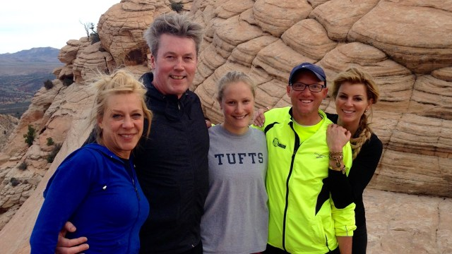 Hiking with friends, Movara Fitness Resort, Spas of America