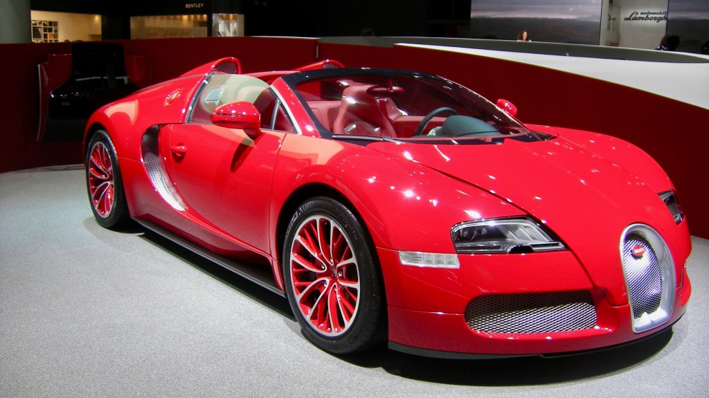 2012 Bugatti Veyron Grand Sport 16.4 Red, Healthy Living + Travel
