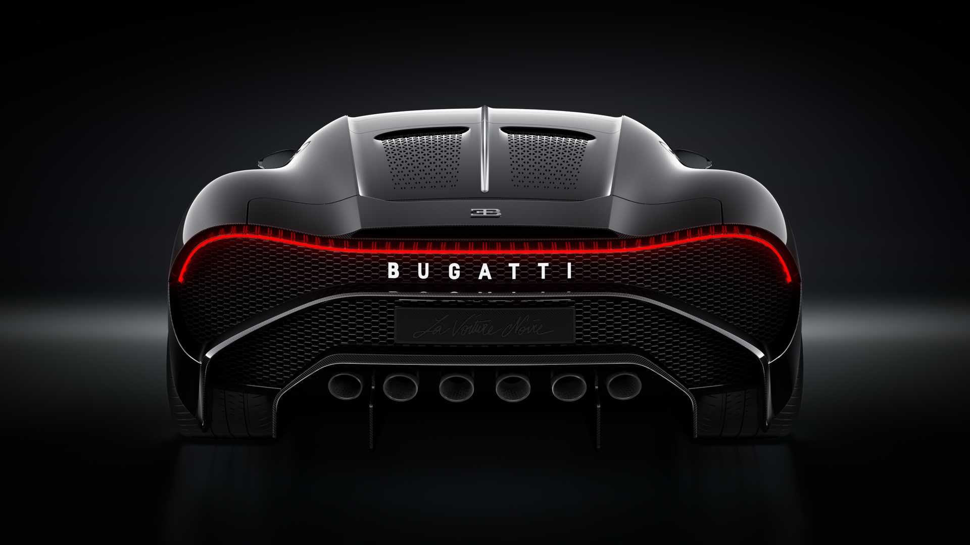 Bugatti La Voiture Noire, Healthy Living + Travel, Rear