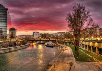 Vienna, Austria, Canal | Healthy Living + Travel