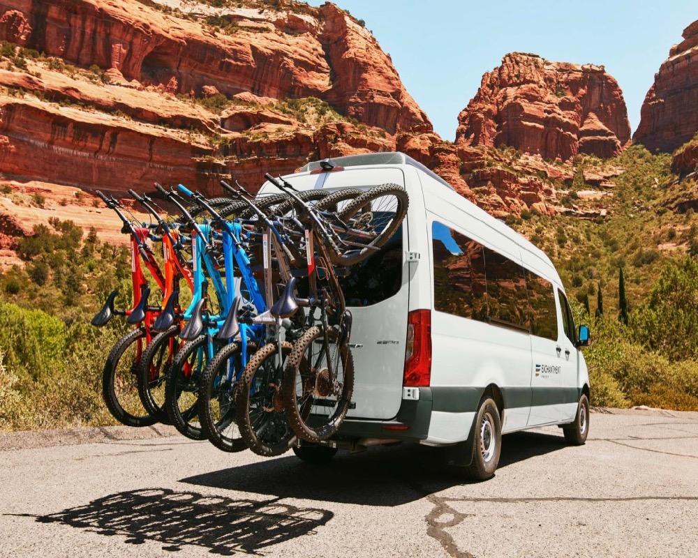 Van, Trail House, Enchantment Resort, Healthy Living + Travel.