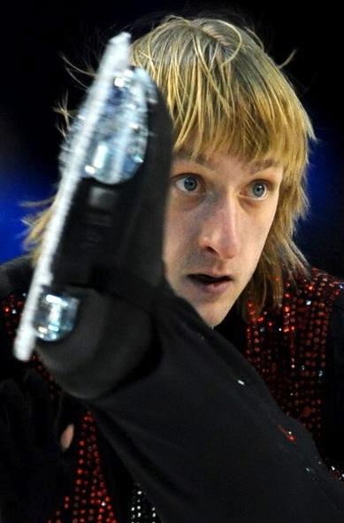 Evgeni Plushenko at Vancouver Olympics Free program