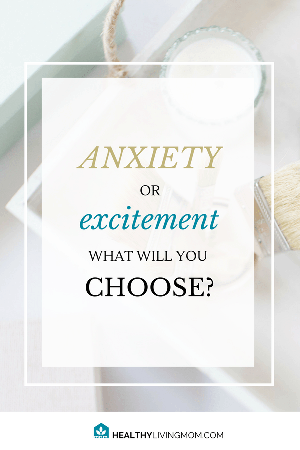 are you choosing anxiety