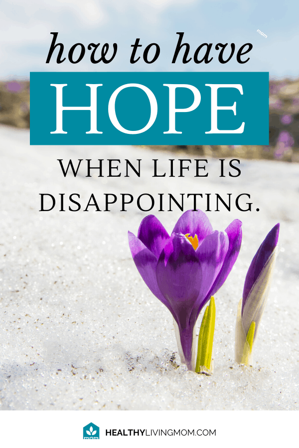 It's not supposed to be this way. Life is disappointing and feels like nothing turns out like you thought. But there's something you can do to regain your hope.