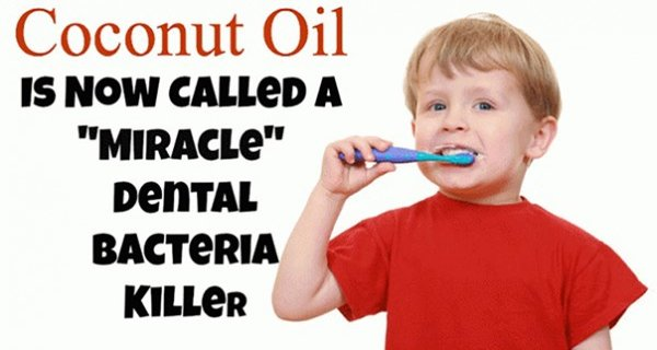 Coconut Oil Is Better Than Any Toothpaste According To New Study!