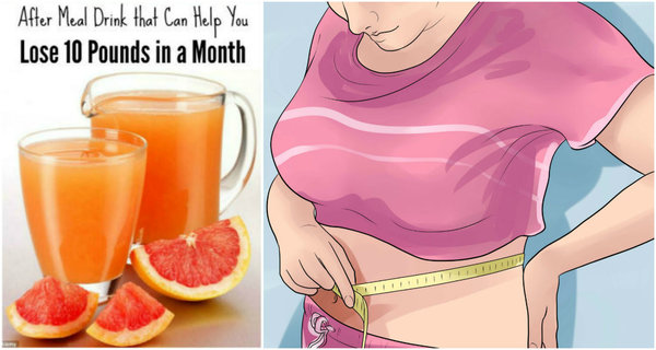 Lose 10-Pounds In Just One Month With This Weight Loss Drink!