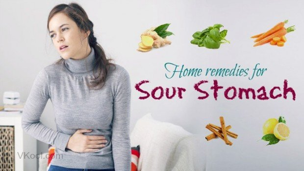 Natural Home Remedies For Sour Stomach!