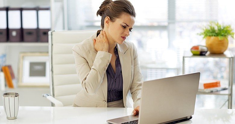 DO THIS 5 MINUTES EXERCISE IN OFFICE AND SAY GOODBYE FOR NECK PAIN FOREVER!