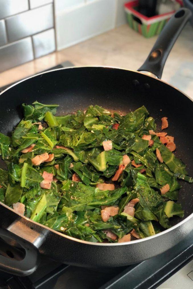 easy keto collard greens recipe